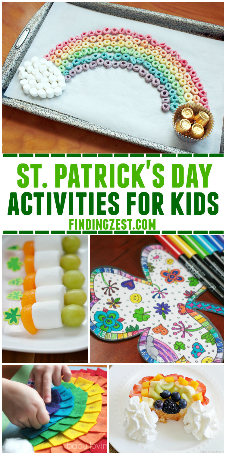 Fun St Patrick's Day Activities St Patrick Day Activities Kids