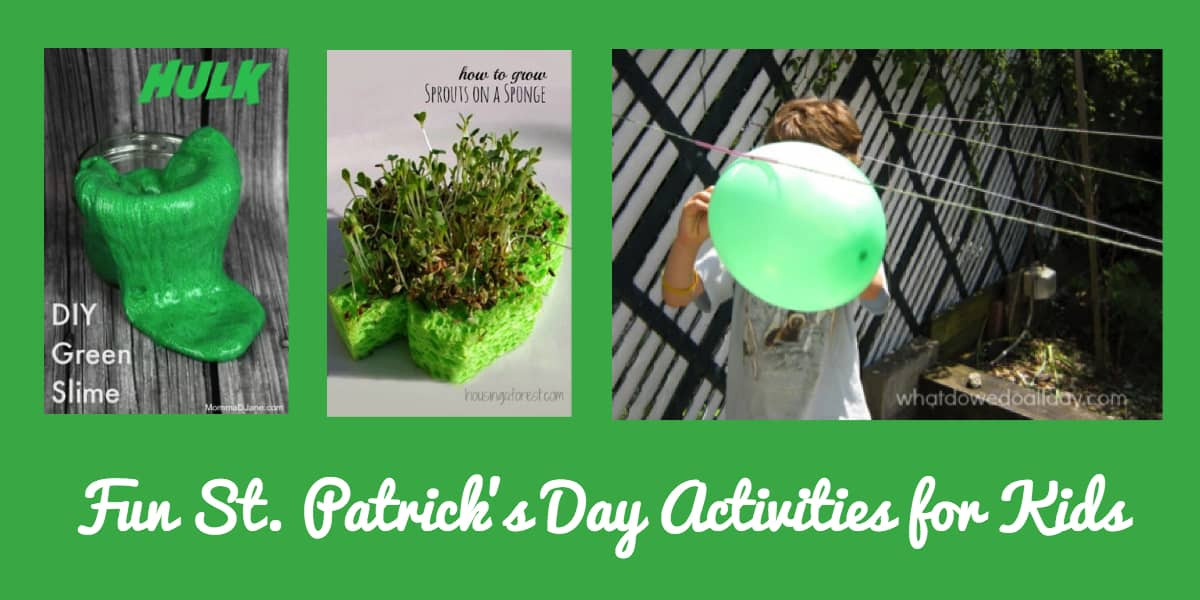 Fun St Patrick's Day Activities Fun St Patrick s Day Activities for Kids SimplyCircle