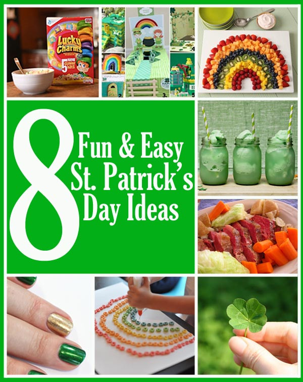 Fun St Patrick's Day Activities 8 Fun and Easy St Patrick s Day Ideas