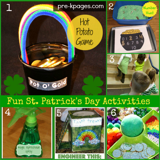 Fun St Patrick's Day Activities St Patrick s Day Activities