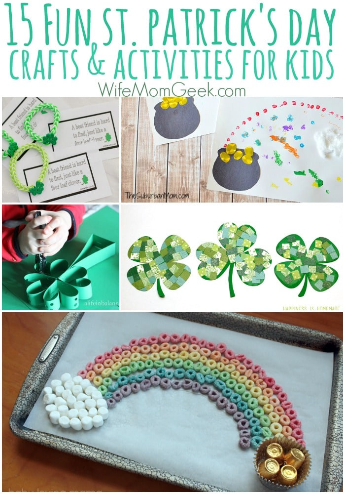 Fun St Patrick's Day Activities 15 Easy St Patrick s Day Crafts and Activities for Kids