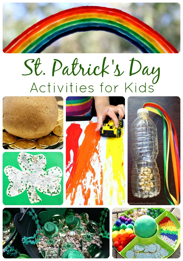 Fun St Patrick's Day Activities St Patrick s Day Activities for Kids Fantastic Fun