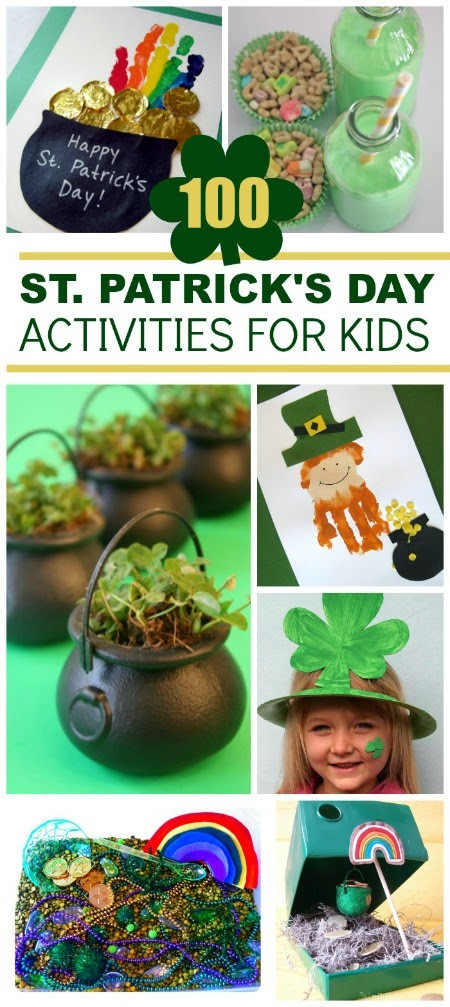 Fun St Patrick's Day Activities St Patrick s Day Activities for Kids