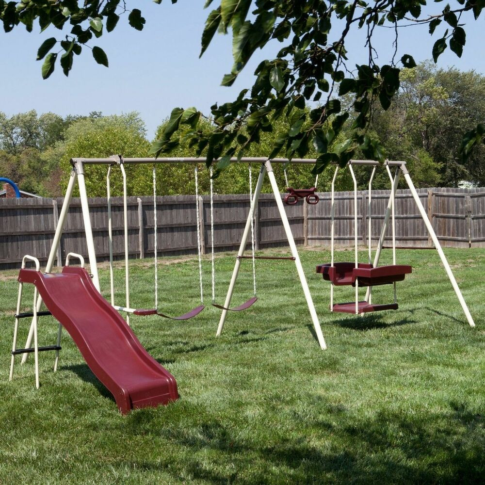 30 Cool Outdoor Swing Sets for Kids - Home, Family, Style ...