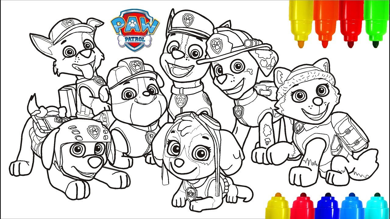 The 21 Best Ideas for Paw Patrol Coloring Pages for Kids ...